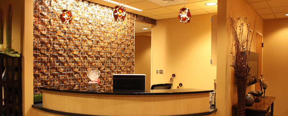Front Desk at Total Rejuvenation