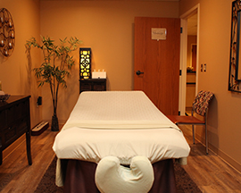 Professional Massage Room in Paducah, KY
